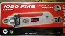 KRESS 1050 FME Motore Fresatrice CNC 1050 W / 10000-32000 RPM + Pinza ER16