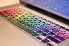 Rainbow MAC Decal Sticker Protector for Apple Macbook Keyboard Pro Air Retina