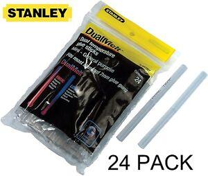 Stanley DualMelt 7mm x 101mm Glue Sticks x 24 for Stanley GR15 Glue Gun