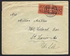 Latvia 1929 cover to USA