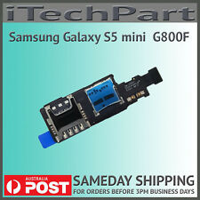 Genuine Samsung Galaxy S5 Mini G800F SIM Card and SD Card Reader Replacement