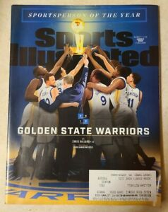 "Sports Illustrated December 17, 2018 Golden State ""Sportsperson of the Year"""