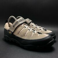 Shimano Mens Gray Strap Cycling Shoes Size 8 M035W