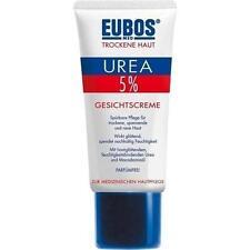 EUBOS TROCKENE HAUT Urea 5% Gesichtscreme 50ml PZN 3447500