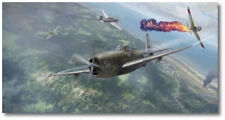 Neel Kearby's Last Mission by Jim Laurier - Republic P-47 Thunderbolt