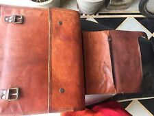 New 1ST Bag Leather Genuine S Men's Handbag Purse Shoulder Messenger Cross Body