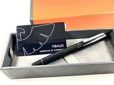 TIBALDI INFRANGIBLE RICH BLACK FOUNTAIN PEN