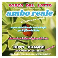 """""""GIOCO DEL LOTTO:AMBO REALE""""ambo, soldi, estratto,ambata, metodo,sistema,vincita"""