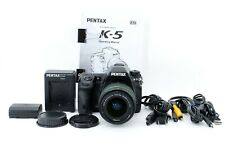 """PENTAX K-5 Digital Camera w/ 18-55mm f/3.5-5.6 WR Lens """"Exc+5"""" #714672-1637"""