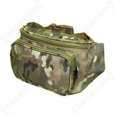 Multitarn Camo WAIST PACK Regular Size - 3 Pouch Pocket Bum Day Belt Carry Bag