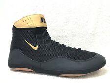 New! Nike Men's Inflict 3 Wrestling Shoes, 14 ~ Black/Gold