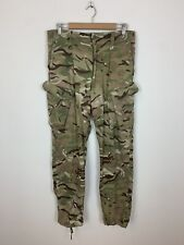 "Army Combat Clothing Camouflage Trousers Pants Camo Khaki Green 33"" Waist"