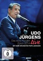 UDO JÜRGENS Das letzte Konzert Zürich Live 2014  (2015) DVD  NEU & OVP