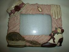 """VINTAGE VICTORIAN  STYLE PICTURE FRAME FOR 4""""x6"""" INCH PHOTO BY FIGI LOVELY"""