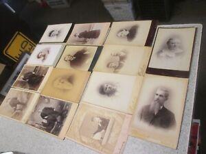 Antique Vermont Cabinet Card Photo Lot Montpelier & Barre and 1 Lyndonville VT