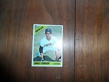 1966 Topps Baseball #513 Camilo Carreon