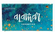 Alamar Cosmetics COLORETE BLUSH TRIO FAIR LIGHT Palette New