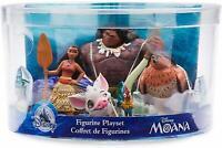 Disney Moana Figurine Figures Figure Set of 5 Toy Playset Moana Maui Pua Hei Hei