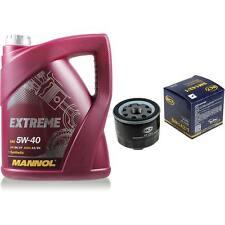 Ölwechsel Set 5L MANNOL Extreme 5W-40 + SCT Ölfilter Service KIT 10164198