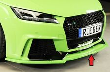 Rieger Frontspoilerschwert schwarz matt für Audi TT RS (8J/8J1-FV/8S):  ...