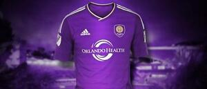 Adidas Mens ClimaCool Orlando City MLS Jersey Authentic *Free Shipping in USA*