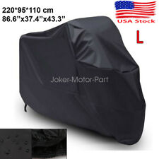 L Black Motorcycle Bike Waterproof Cover For Yamaha YZF R1 R3 R6 R6S 1000R 700R
