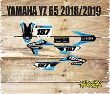 Yamaha YZ 65 Kit Completo De Gráficos Pegatinas/Calcomanías 2018/2019