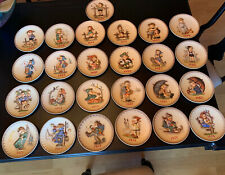 Complete Set of Goebel M.J. Hummel Annual Collector Plates 1971-1995 (25 Plates)