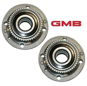 For BMW E30 318i 325 Set of Front Left & Right Wheel Hub w/ Bearings GMB