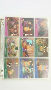 Aaah Real Monsters set of 150 cards, 38 chase cards & 4 up promo Fleer 1995