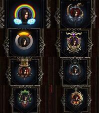 Diablo 3 PS4 Portrait Frames For Softcore (Please Read Description)