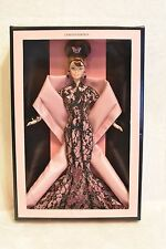1999 Hanae Mori Barbie! Black Designer Couture Dress w/ Butterflies! LE! NIB!