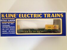 K-Line # K-6620 1989 TCA National Convention Reading RR with two cannons NIB