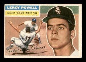1956 Topps Set Break #144 Leroy Powell VG-EX *OBGcards*