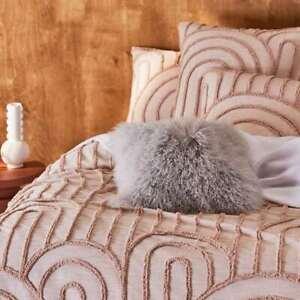 Mongolian Sheepskin cushion 40x40cm