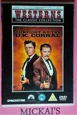 GUNFIGHT AT THE OK CORRAL - WESTERNS THE CLASSIC COLLECTION WTCCN04 DVD PAL OOP
