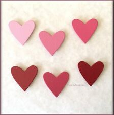 Heart Ombre Metal Magnets Set Of 6 By Roeda® Free U.S. Shipping