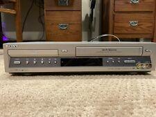 Sony SLV-D100 DVD Player/Video Cassette Recorder