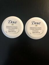 Dove Intensive Cream Nourishing Daily Skin Care 75 ml 2.53 fl oz. 2pack