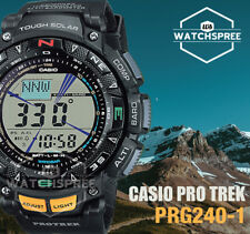 Casio Protrek Triple Sensor Tough Solar Watch PRG240-1D