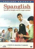 SPANGLISH (2004) di James L. Brooks - Adam Sandler -  DVD EX NOLEGGIO - COLUMBIA