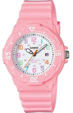 Casio LRW200H-4B2V Women's Pink Resin Band Pink Bezel 100M Sports Analog Watch