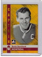 BUTCH BOUCHARD 11/12 ITG Captain C GOLD Parallel Montreal Canadiens /50 #13 SP