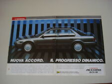 advertising Pubblicità 1991 HONDA ACCORD 2.0 i 16