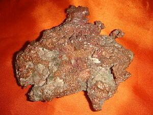 USA, Rich Copper Ore, Collectible Mineral Rock, Large Specimen, Rare