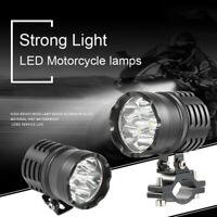 3500LM Motociclo Moto Fendinebbia Luce Lampada Frontale Faretti Faro 36W LED
