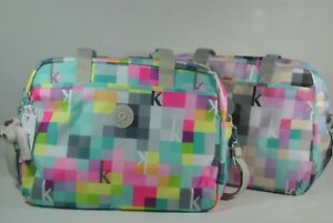 New With Tag Kipling POPPER Baby Diaper Shoulder Bag with Changing Pad TM5558