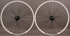 "WTB SX17 Rims 26"" White Mountain Bike MTB Wheelset 6B 32h Clincher Shimano/SRAM"
