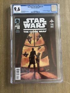 Star Wars The Clone Wars #1 1st Ahsoka Tano CGC 9.6  Dark Horse Comics