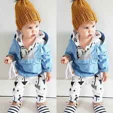 3-6M Baby Kids Boys Infant Romper Jumpsuit Bodysuit Cotton Clothes Outfit Set